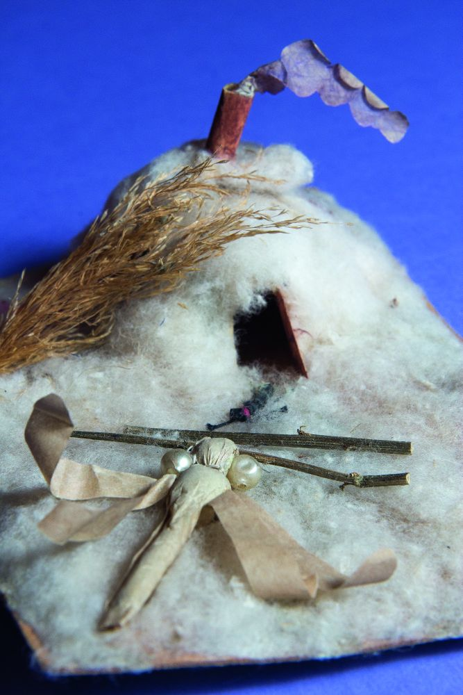 Подставочная игрушка под ёлку «Стрекоза и муравей». Первая четверть ХХ в.