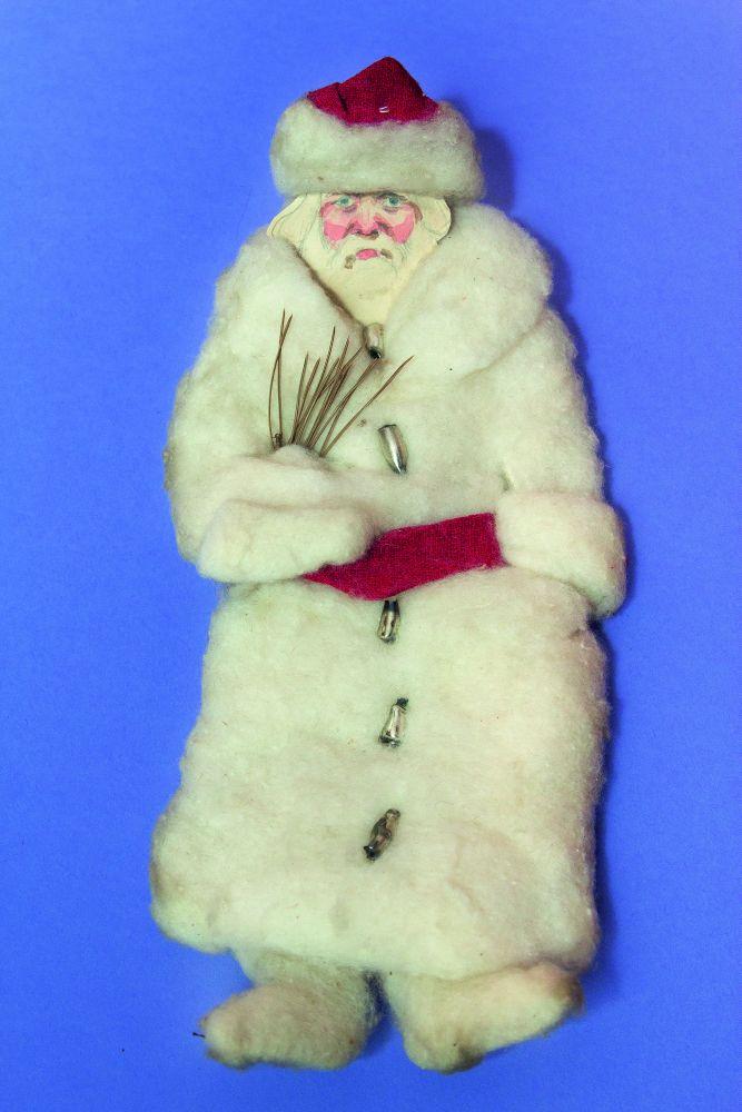 Ватная игрушка «Рождественский дед». Первая четверть ХХ в.