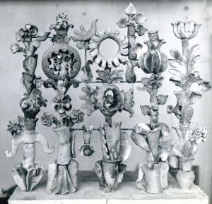 Композиция «Растение» ввестибюле Института ботаники им. Н.Г.Холодного. 1982. Фото изархива О.Рапай