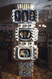 Композиция «Музыкальное дерево» взале отдела искусств Национальной библиотеки Украины длядетей. 1979. ФотоД.Краснова
