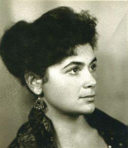 Ольга Рапай. 1960-е гг. Фото из архива О. Рапай