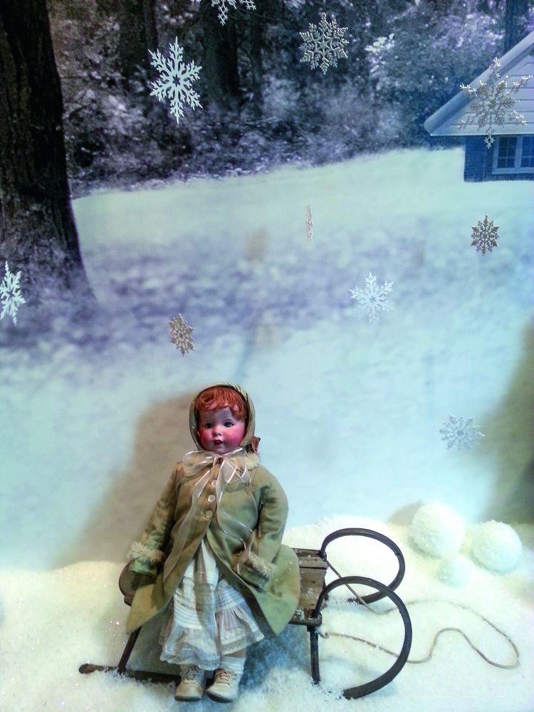 Кукла изколлекции Энн Уайет. Brandywine River Museum of Art