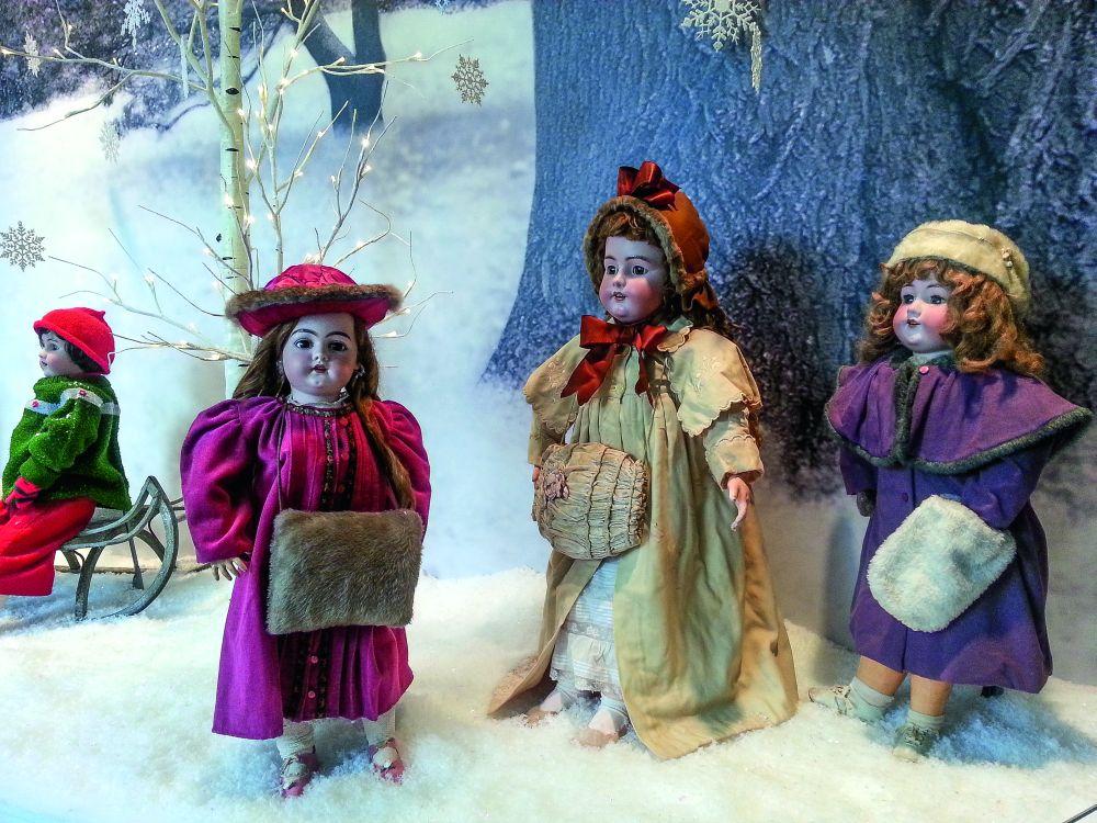 Куклы изколлекции Энн Уайет. Brandywine River Museum of Art
