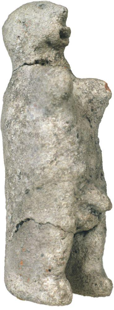 Фигурка мужская. 3600–3400гг. дон. э. Керамика; выс. 15,6см. Инв. № ПКП 11