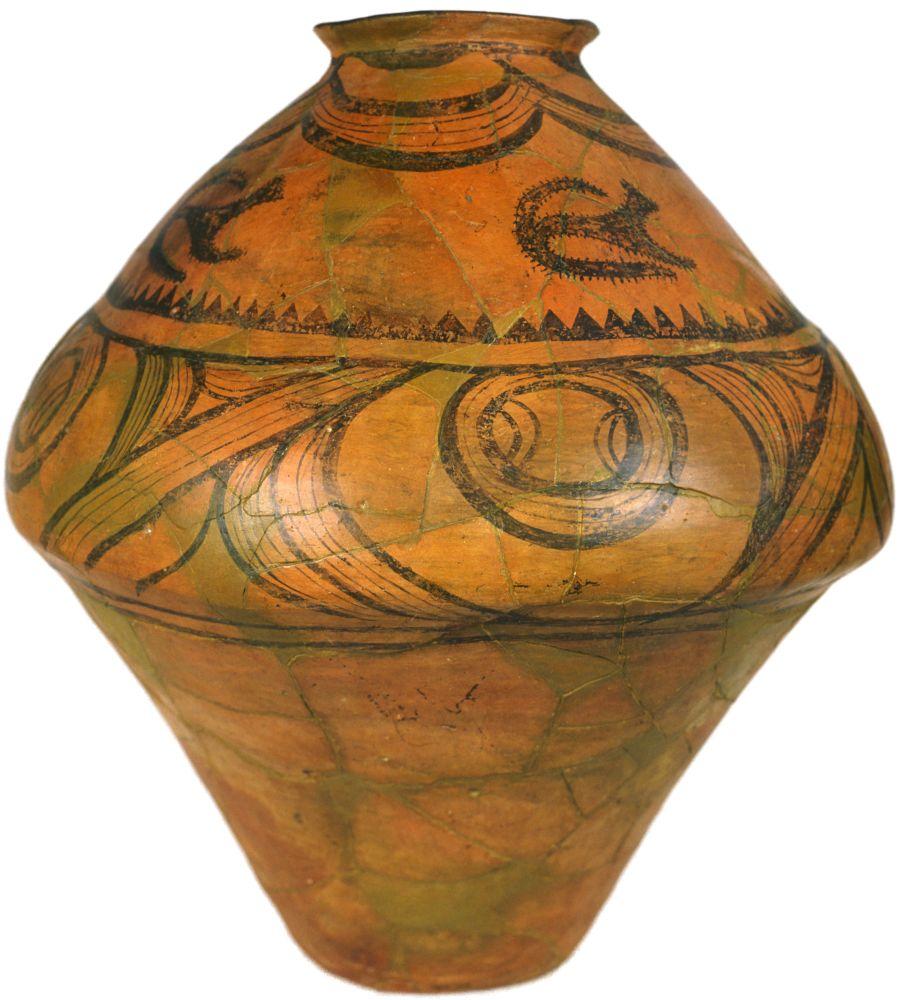 Горшок с«лунными козами». 3850–3500гг. дон. э. Керамика; выс. 52,8см. Инв. № ПКП 4970