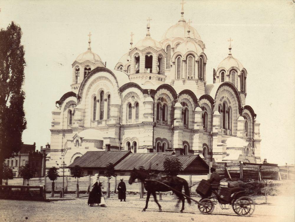 Владимирский собор. Фото конца XIX в.