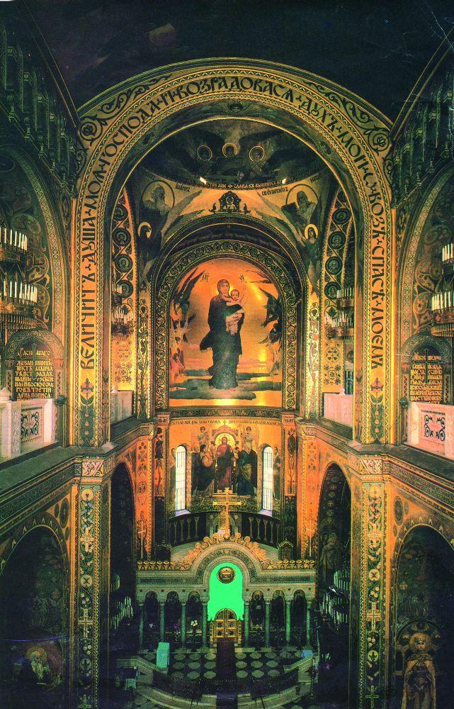 Центральный неф Владимирского собора