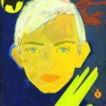 В.Зарецкий. Портрет Игоря Дыченко. 1964. К., темпера, смешанная техника. 41×35см