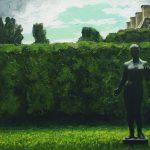 В.Рыжих. Парк Тюильри. 2008. Х., м. 100×140см