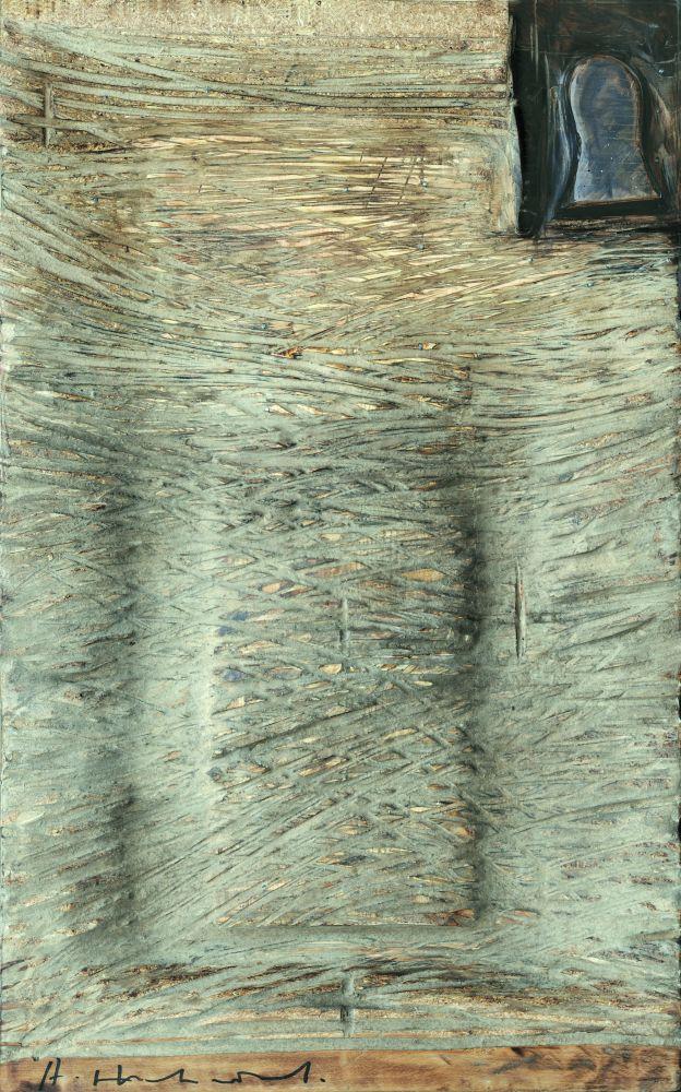 А.Животков. Афиша. Пролог. 2014. Дерево. 85×52см