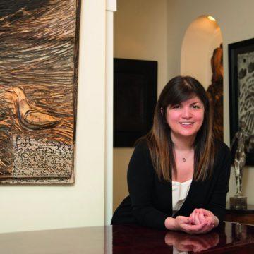 Стелла Беньяминова, основатель Stedley Art Foundation, коллекционер