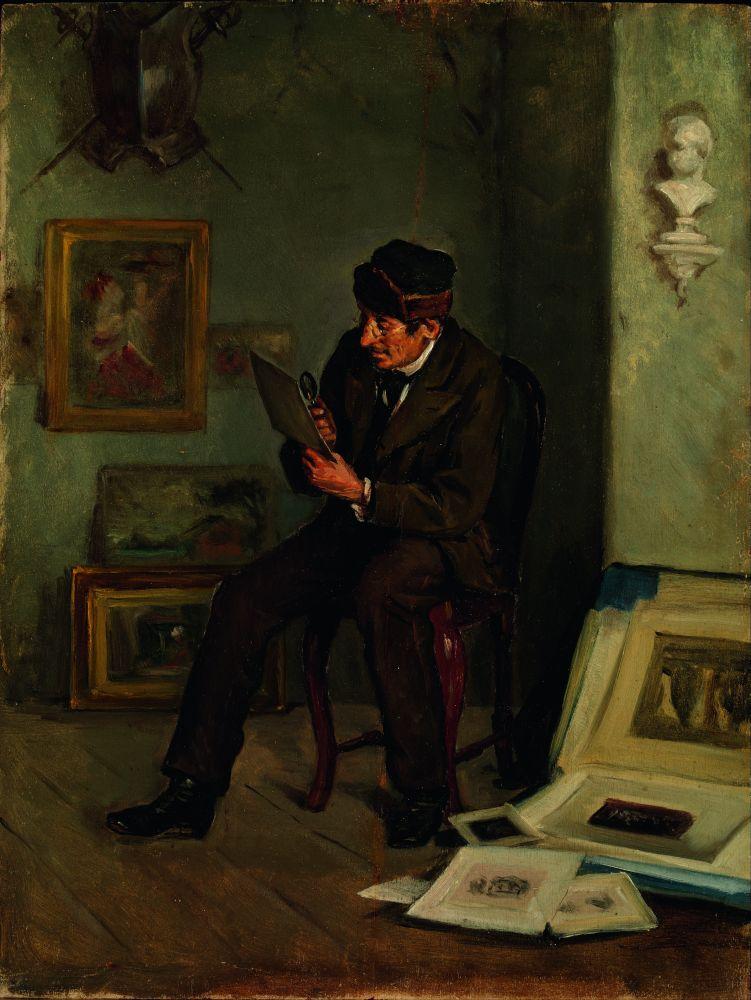 АдольффонБеккер(1831–1909). Арт-эксперт. 1880‑е гг. Х., м. Музей современного искусства Эспоо (Финляндия)