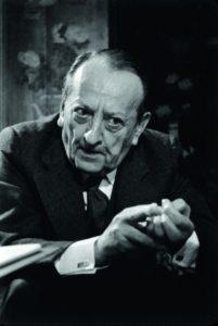 Андре Мальро. Фото 1974 р.