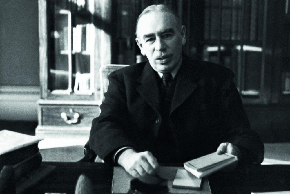 Джон Мейнард Кейнс. Фото 1940 р.