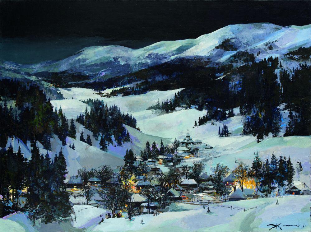 В.Жмак. Рождество. 2008. Х., м. 60×80см