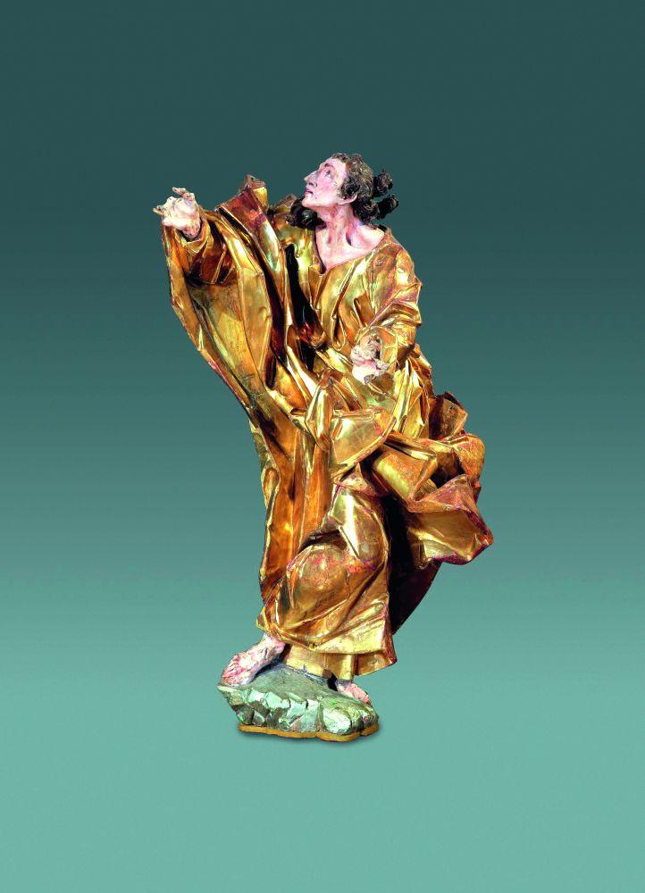 СкульптураИ.Пинзеля «Святой Иоанн». Кон. 1750‑х гг. Львовская национальная галерея искусств им. Б.Г.Возницкого