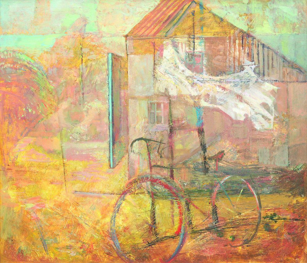 Безназвания. 2011. Х., м. 60×70см