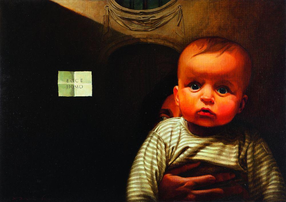 Е.Равский. Ecce Homo (изсерии «Ecce Homines»). 2010. Холст, масло, 102×144см