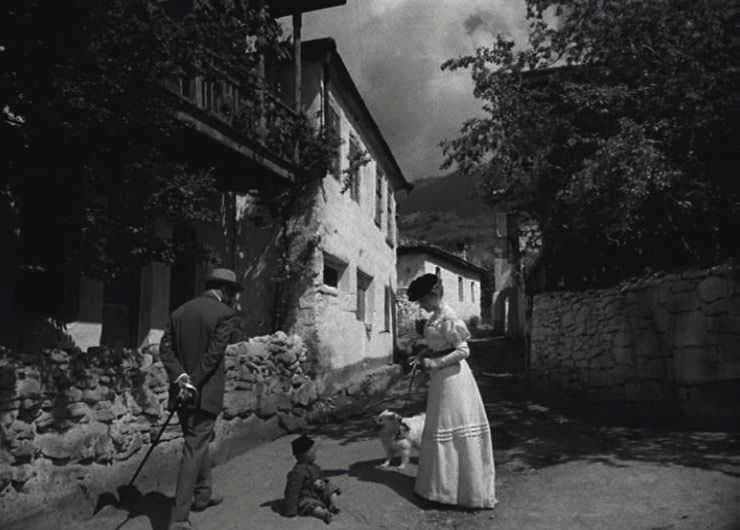 Дама ссобачкой. 1960. Реж.И.Хейфиц