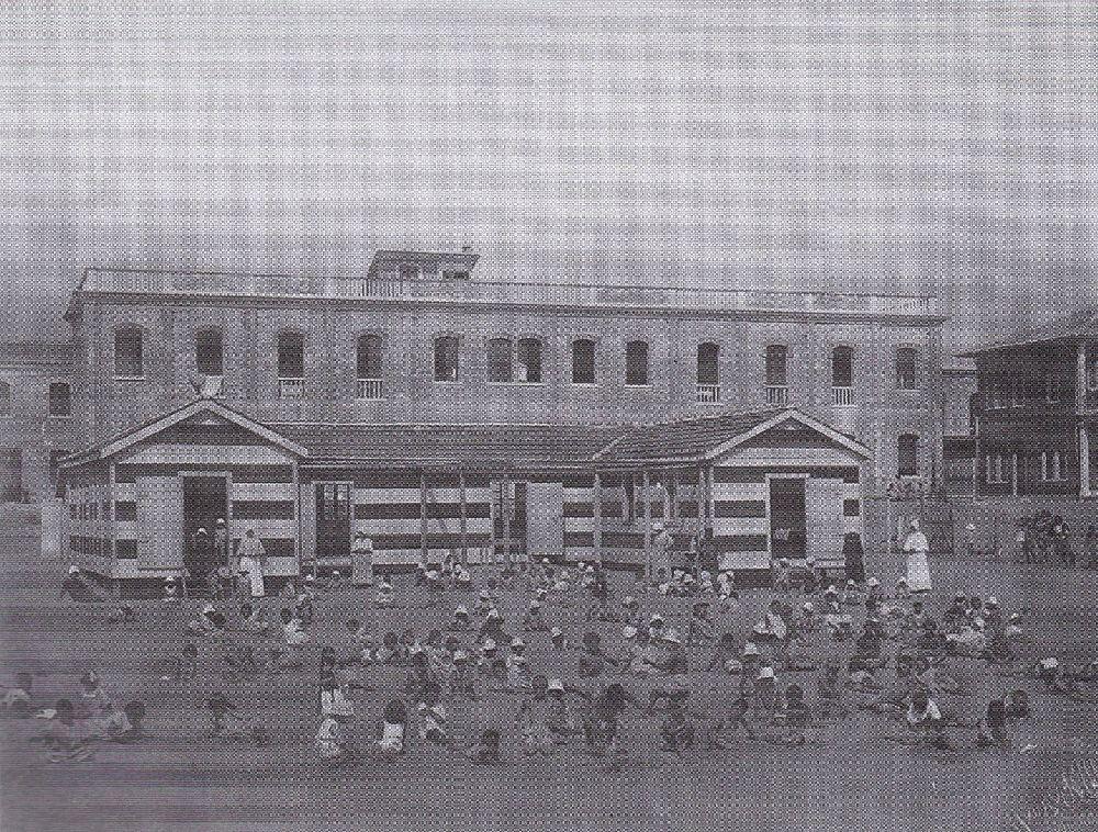 Лидо. Театр Маринони натерритории госпитального комплекса. Фото 1920‑х гг.