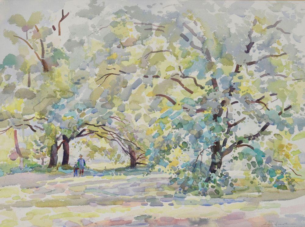 А.Агафонов. Налугу. 1992. Б., акв. 60×80см