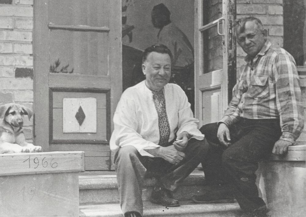 А.Малышко иС.Григорьев. 1966