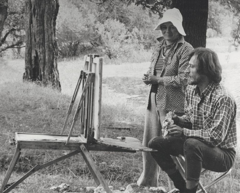 Г.Григорьева иА.Агафонов. 1975