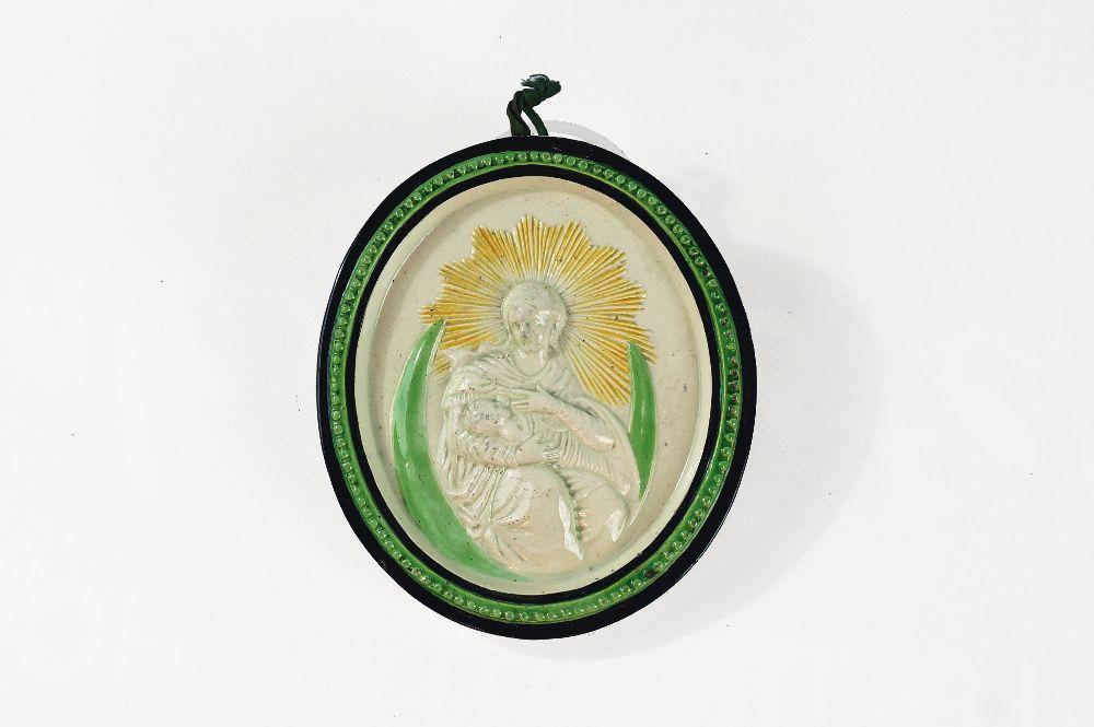 Икона «Богоматерь сМладенцем». Сер. XIXв. НМУНДИ