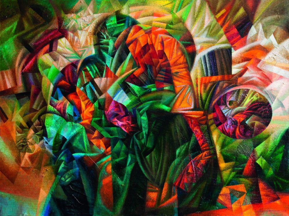 Загублені вчасі. 2013. Полотно, акрил, олія. 60×80см
