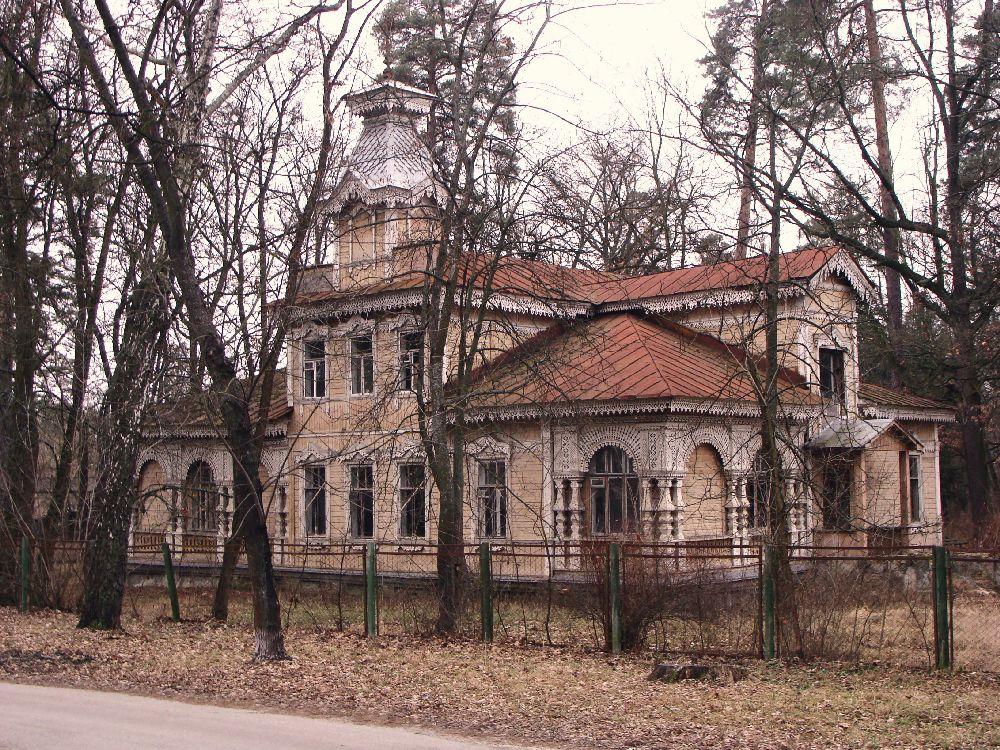 Пуща-Водица. ДачаЯ.Каплера до пожара. Построена в 1900‑е гг. ФотоИ.Быкова