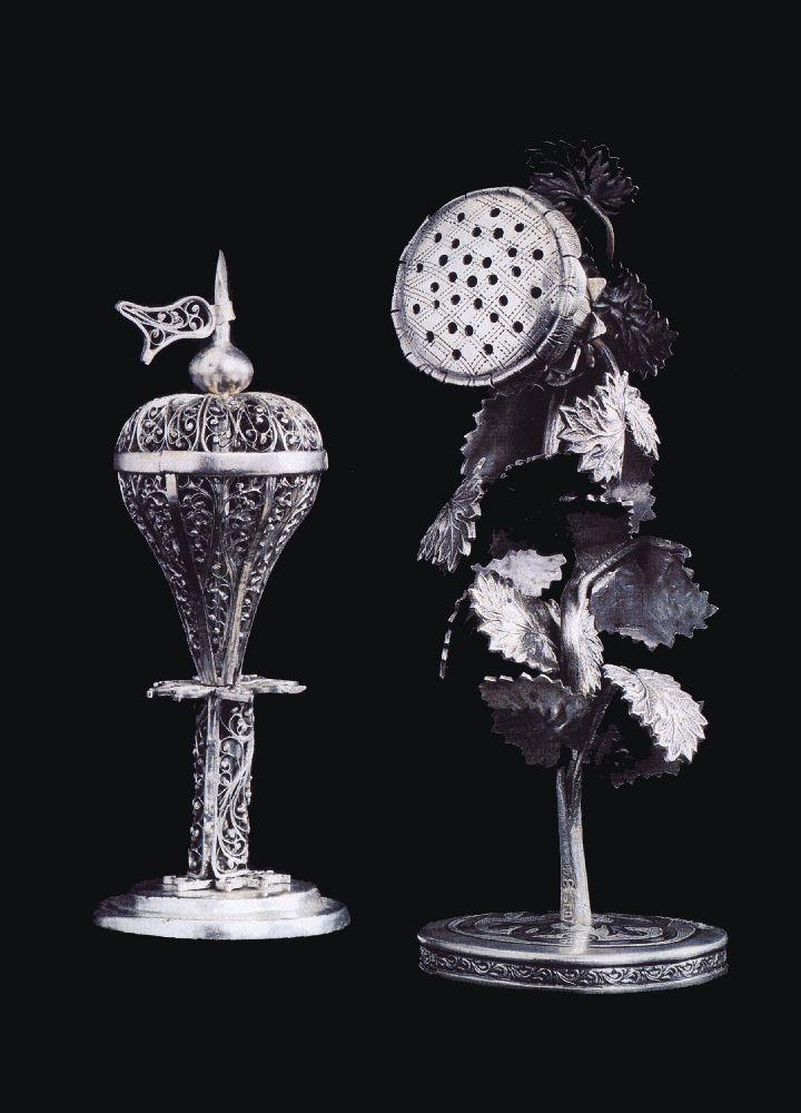 Бсамим. Житомир, вторая пол. XIX в. Серебро. Музей исторических драгоценностей Украины