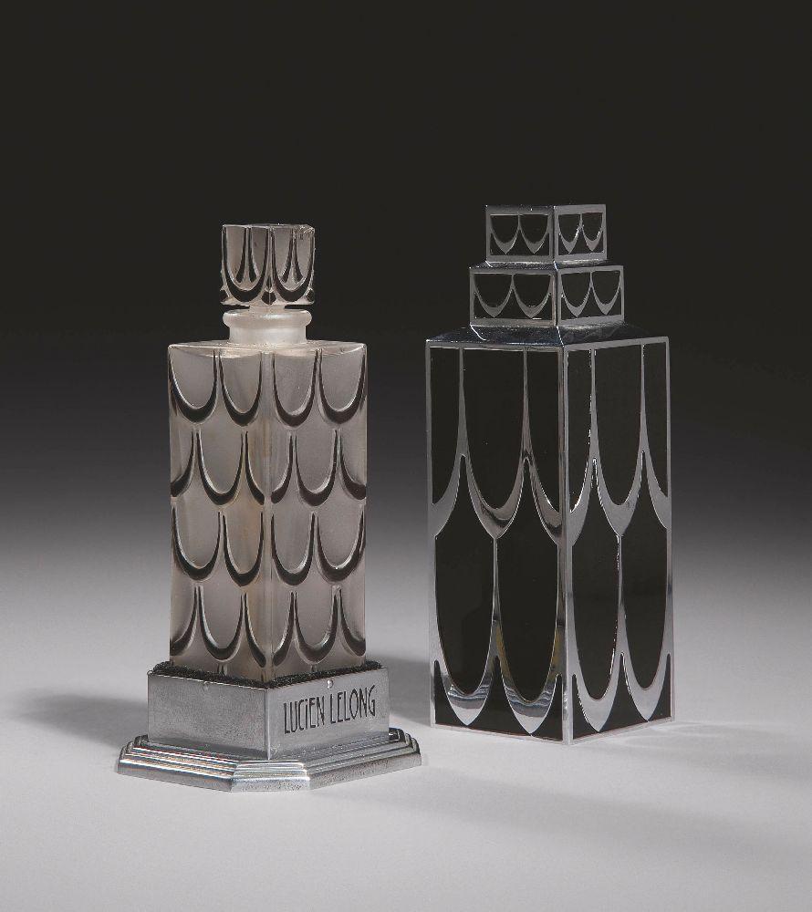 Р.Лаликдля«LucienLelong». Parfums A, B, C, J ou N. 1929. Выс. 10см. Christie's, март 2011—$23 тыс.