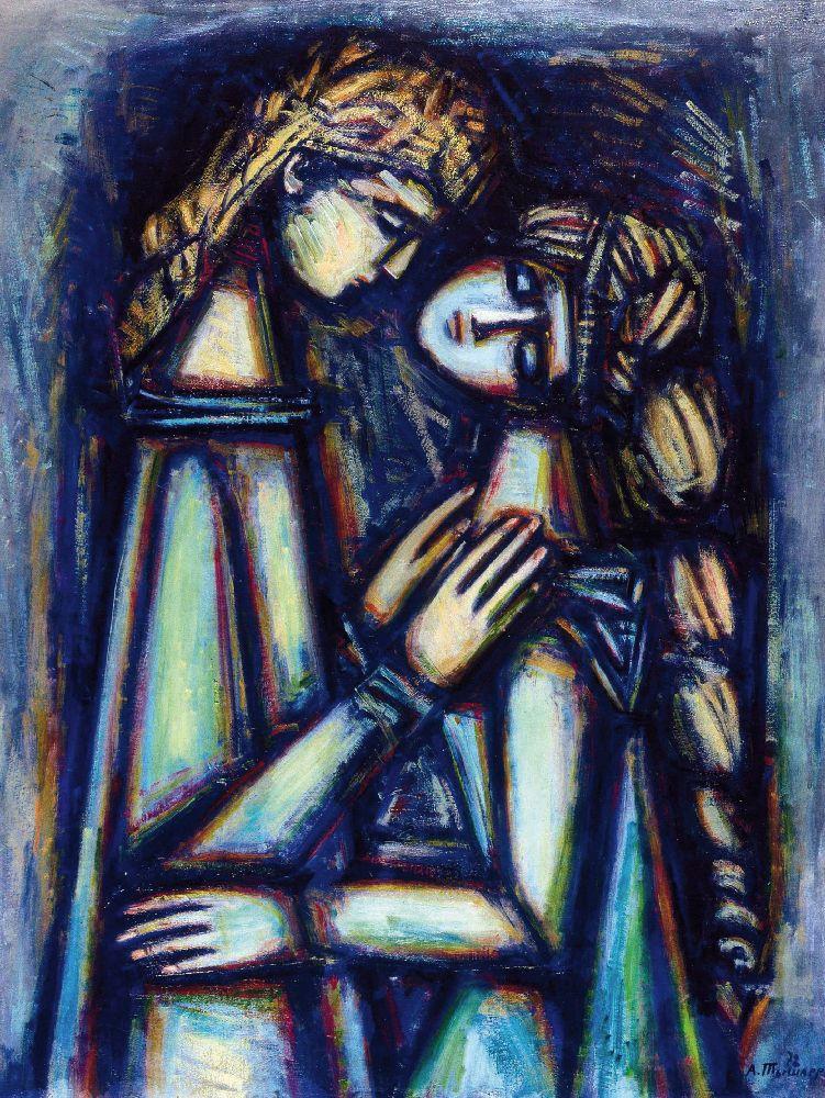 Лунный свет. 1972. Х., м. 80×67см. Днепропетровский художественный музей
