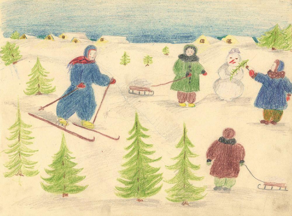 Рисунок Лены Новиковой