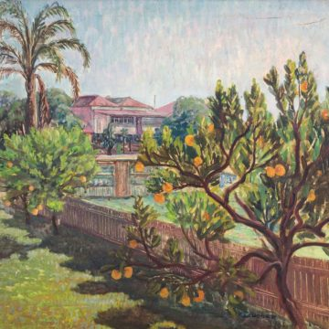 Околиці Брисбена. 1962. Полотно, олія. 46×62см