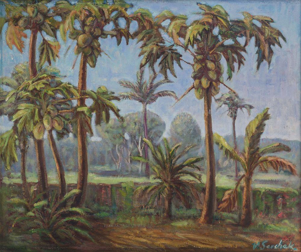 Дерево ПО-ПО. ДВП, олія. 54×60см
