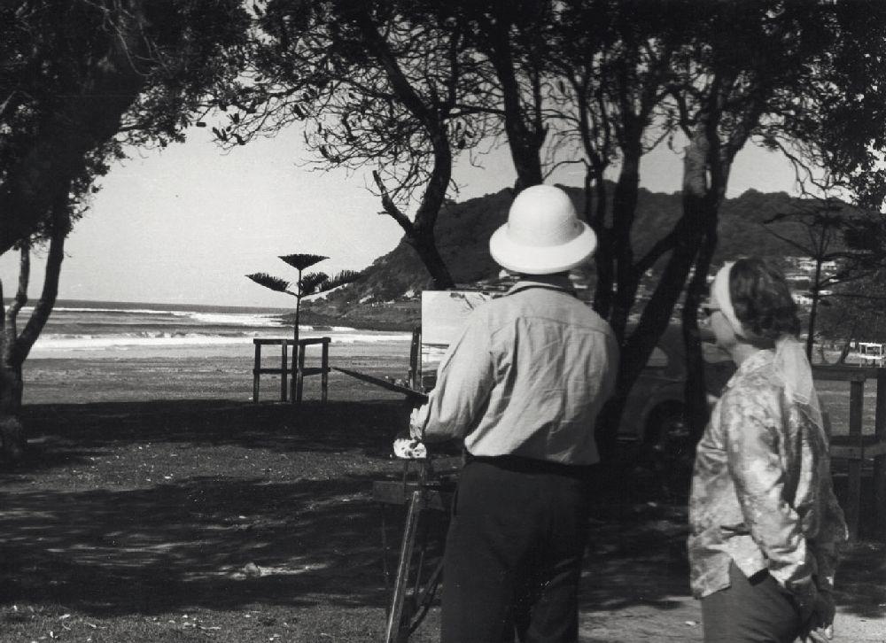 Володимир Савчак та Ліда Домбровська. Сідней, 1965