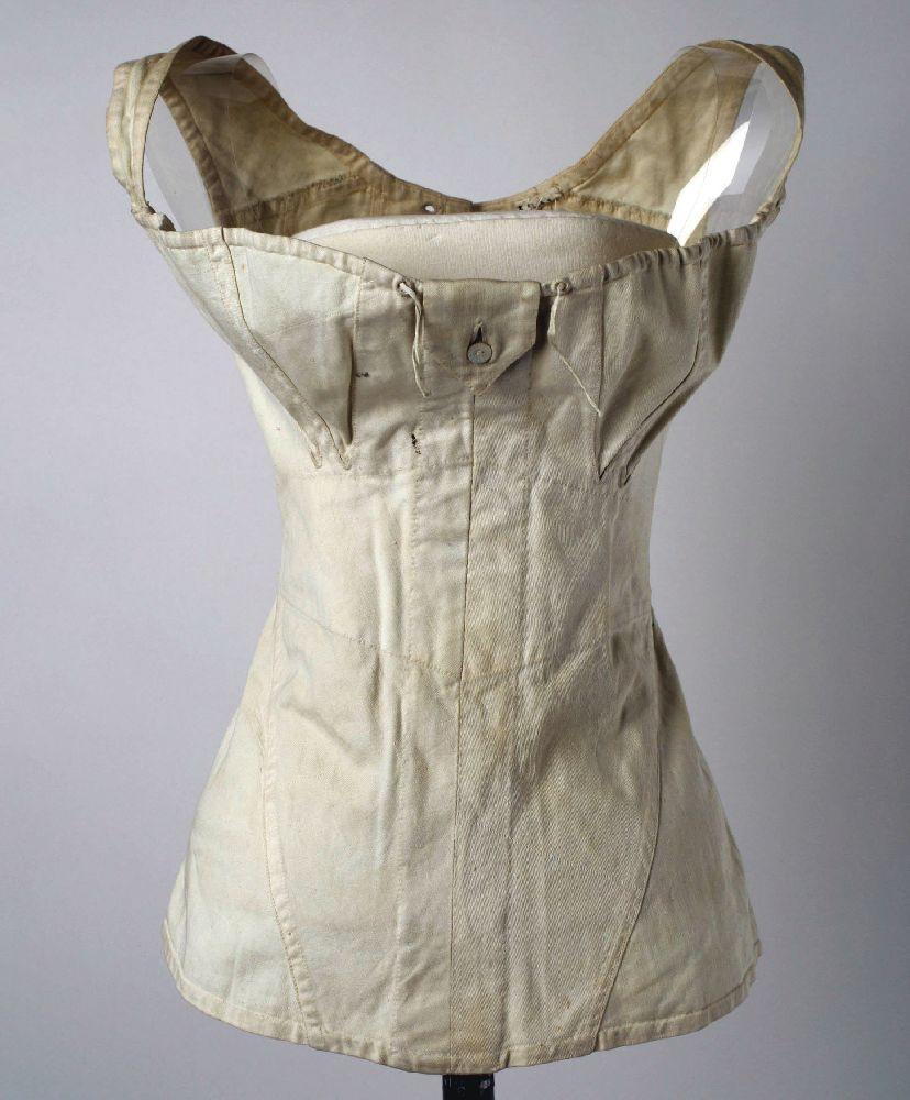 Корсет. США, 1811. Хлопок. Метрополитен-музей