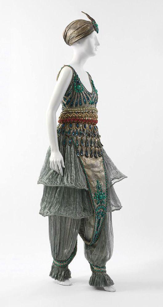 П.Пуаре. «Fancy Dress». 1911. Музей Метрополитен, Нью-Йорк
