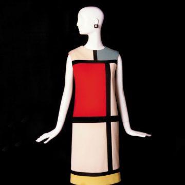 ИвСен-Лоран. Платье «Мондриан». 1965