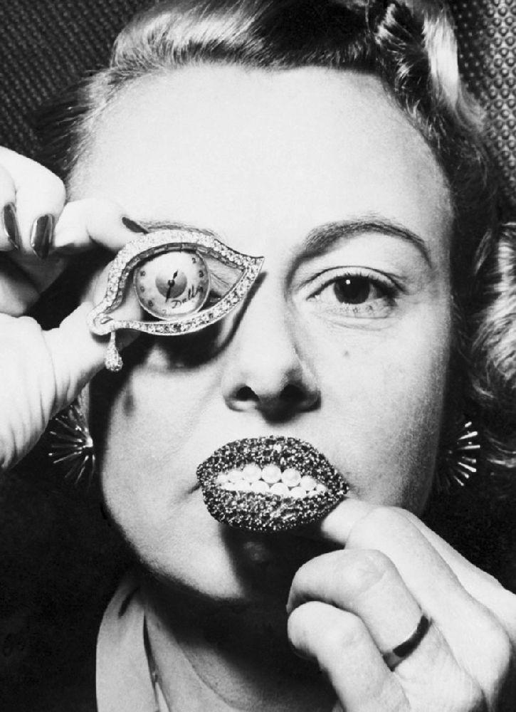 Ювелирные изделия подизайну С.Дали «Глаз времени» и«Рубиновые губы»