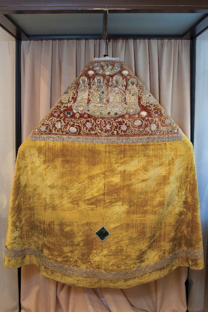 Фелонь. Киев, мастерские Флоровского монастыря, 1750