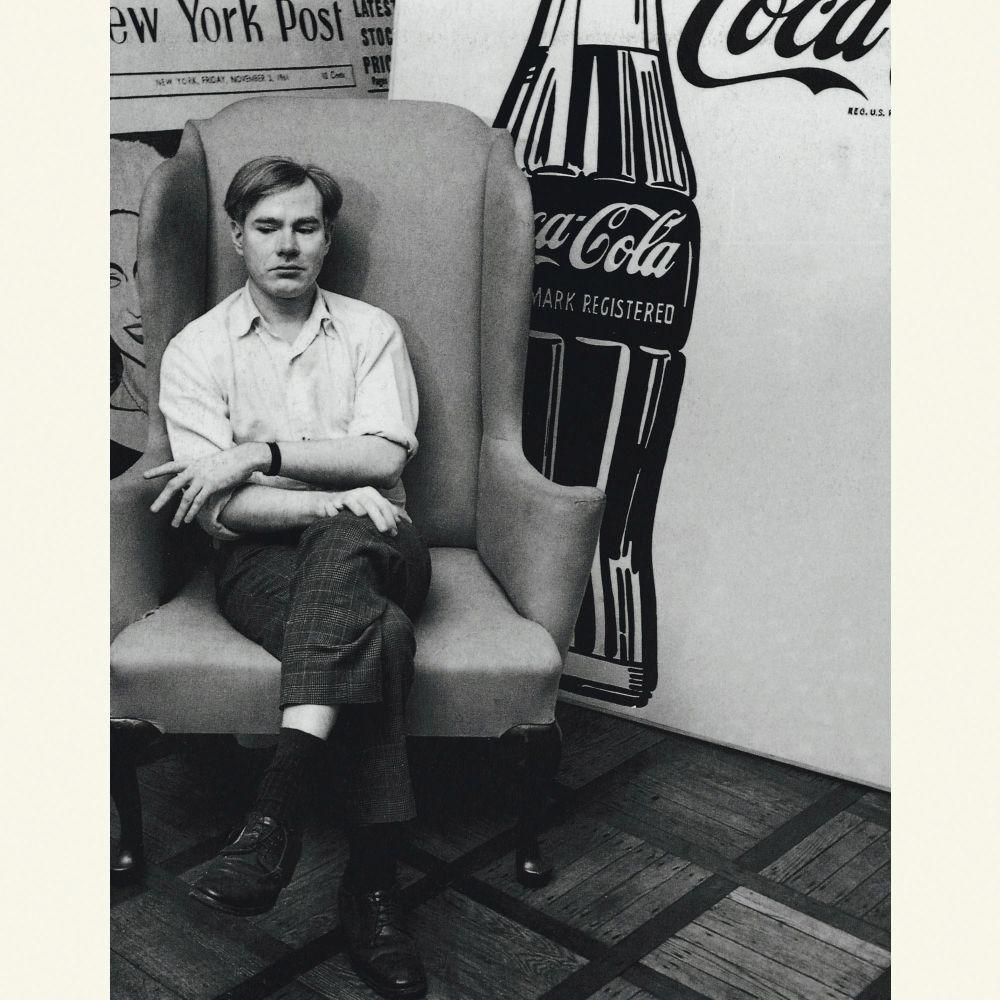 Энди Уорхол всвоей мастерской. Фото 1962г.