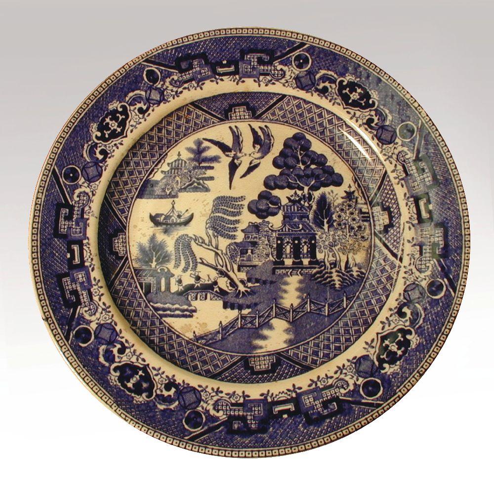Илл. 3. Тарелка с декором «Willow pattern». Англия. XIX в.
