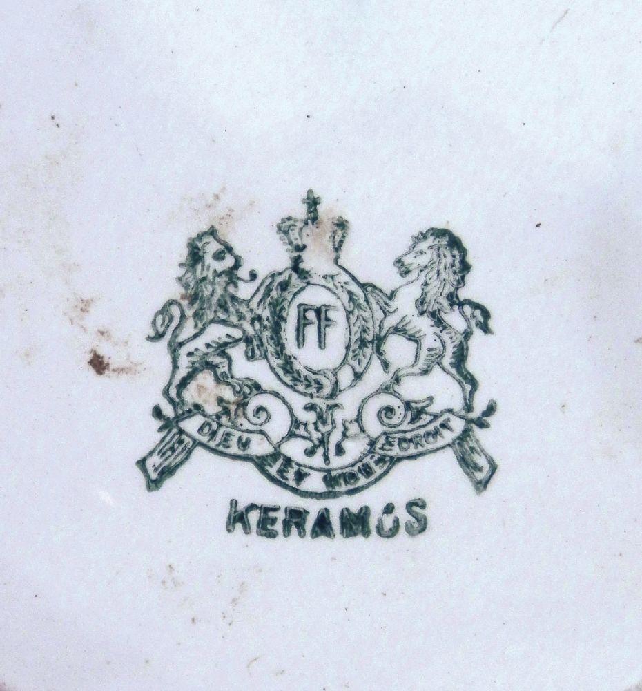 Илл. 14. Марка фаянсовой фабрики «Керамос» во Влоцлавске. 1894–1924 гг.
