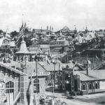 Общий вид Сельскохозяйственной ипромышленной выставки вКиеве. Фото 1897г.