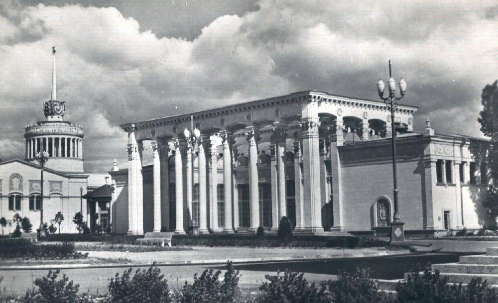 Комплекс ВДНХ УССР. Фото 1950‑х гг.