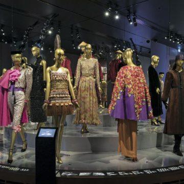 Часть экспозиции Музея Ива Сен-Лорана в Париже