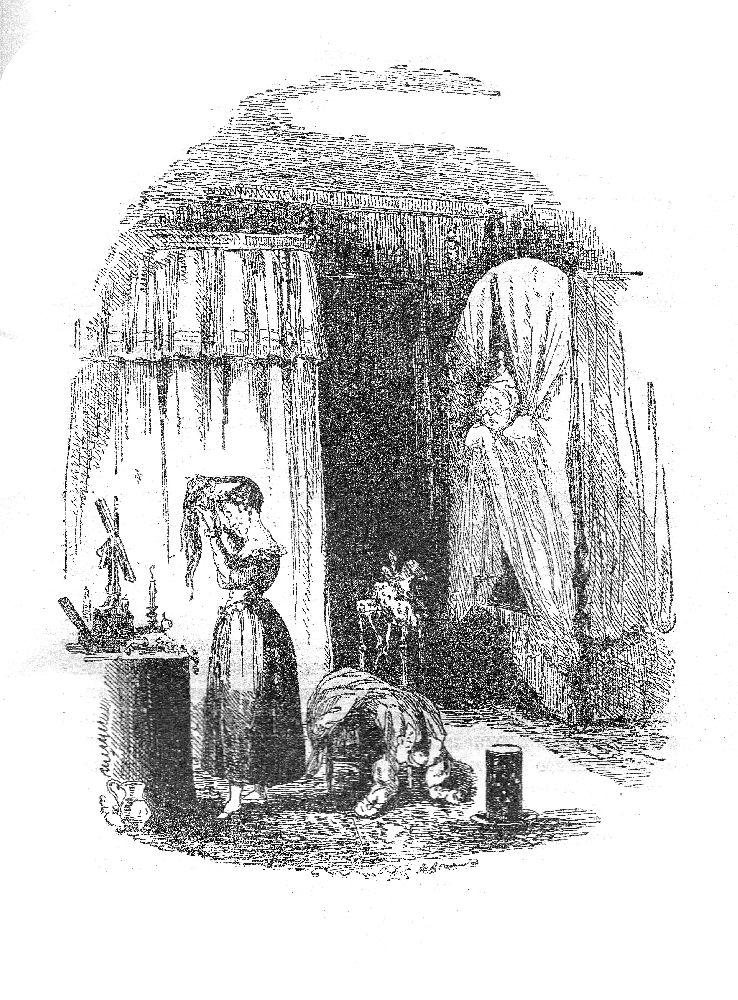 «Физ»(Х.Н.Браун). Иллюстрация к22‑й главе романа Ч.Диккенса «Посмертные записки Пиквикского клуба». 1836 (первое издание)