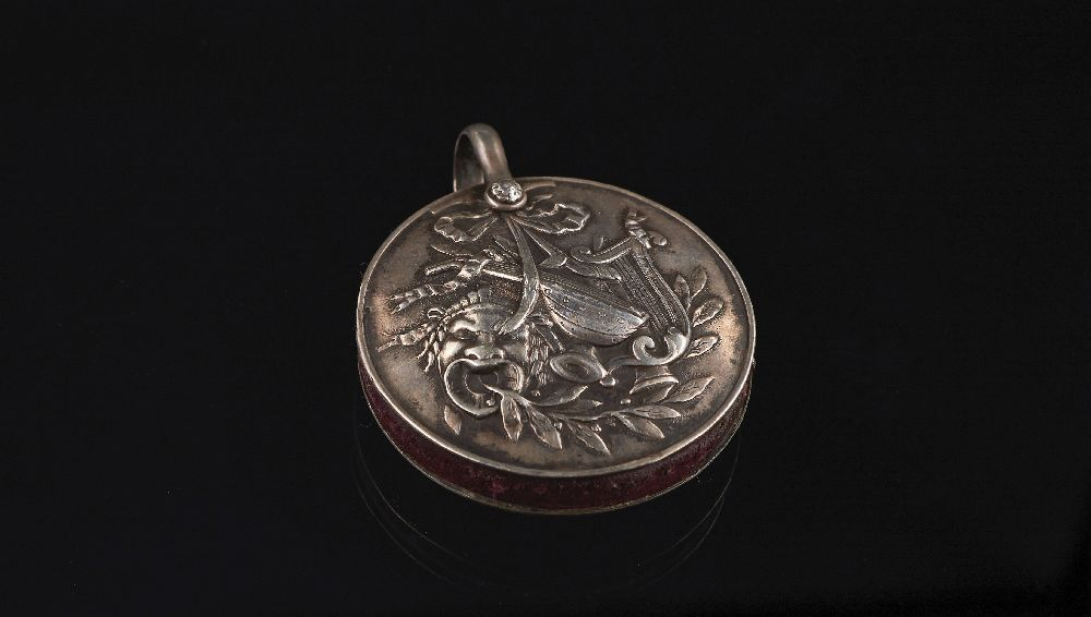 Серебряный футляр для булавок. XIX в. Victoria Museum Silver needle case. 19th century. Victoria Museum